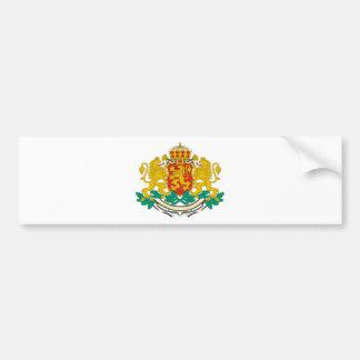 Bulgaria coat of arms bumper sticker