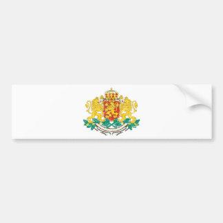 Bulgaria Coat Of Arms Car Bumper Sticker