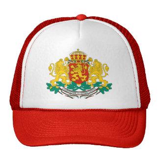 Bulgaria Coat of Arms detail Cap
