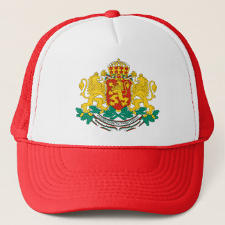 Bulgaria Coat of Arms detail Trucker Hat