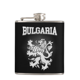 Bulgaria Coat of Arms Hip Flask