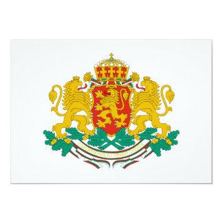 Bulgaria Coat of Arms Custom Announcements