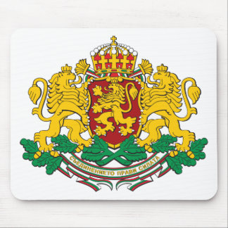 Bulgaria Coat Of Arms Mouse Pad