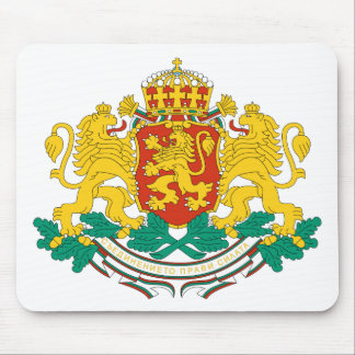 Bulgaria Coat Of Arms Mouse Pads