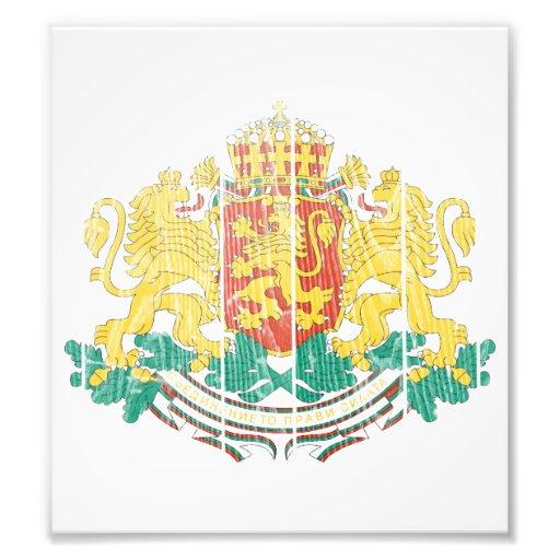 Bulgaria Coat Of Arms Photo Art
