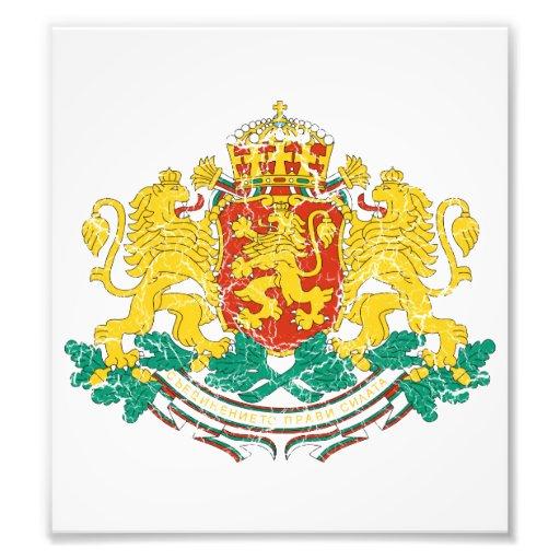 Bulgaria Coat Of Arms Photograph