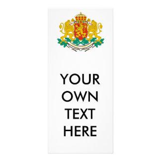 Bulgaria Coat of Arms Rack Card Template