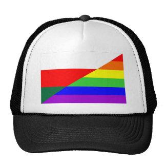 bulgaria country gay proud rainbow flag homosexual hats