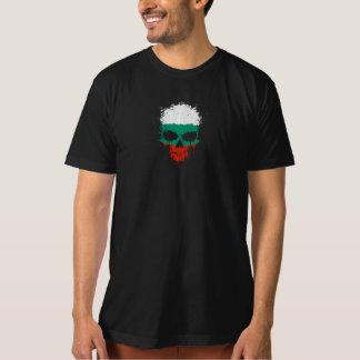 Bulgaria Dripping Splatter Skull Tshirt