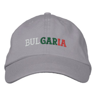 Bulgaria Embroidered Hat