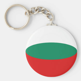 Bulgaria Fisheye Flag Keychain