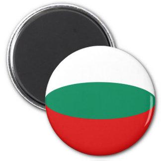 Bulgaria Fisheye Flag Magnet