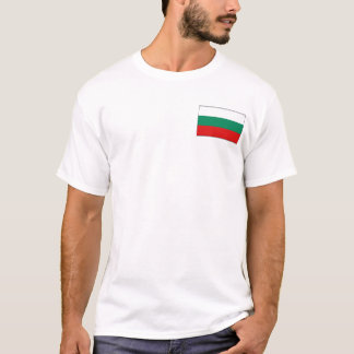 Bulgaria Flag and Map T-Shirt