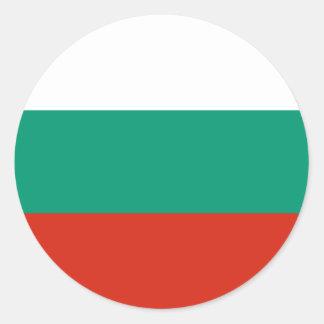 Bulgaria Flag BG Classic Round Sticker