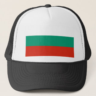 Bulgaria Flag BG Trucker Hat