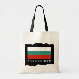 Bulgaria Flag Budget Tote Bag