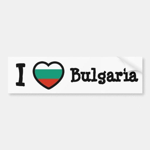 Bulgaria Flag Bumper Stickers