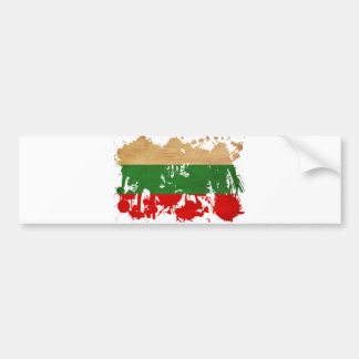 Bulgaria Flag Bumper Sticker
