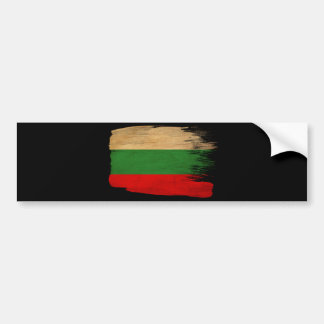 Bulgaria Flag Bumper Sticker