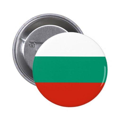 Bulgaria Flag Button