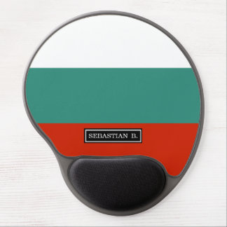 Bulgaria Flag Gel Mouse Pad
