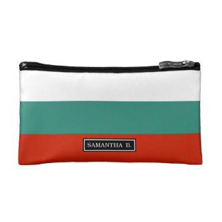 Bulgaria Flag Makeup Bags