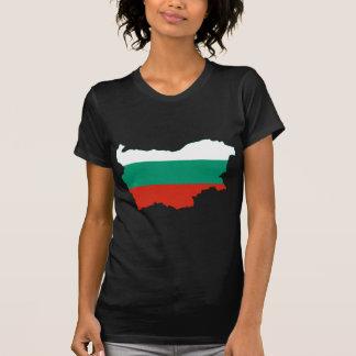 Bulgaria Flag map BG T-Shirt