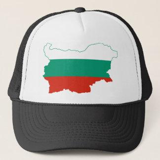 Bulgaria Flag map BG Trucker Hat
