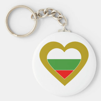bulgaria-heart key ring