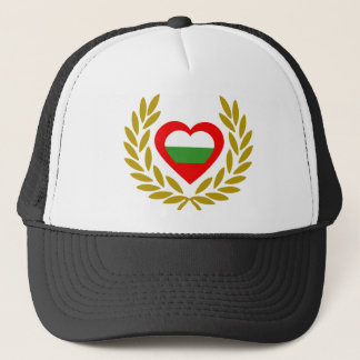 bulgaria-laurel-heart trucker hat