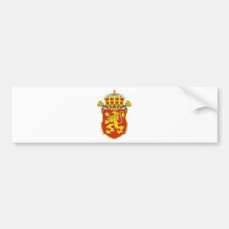 Bulgaria Lesser Coat Of Arms Car Bumper Sticker