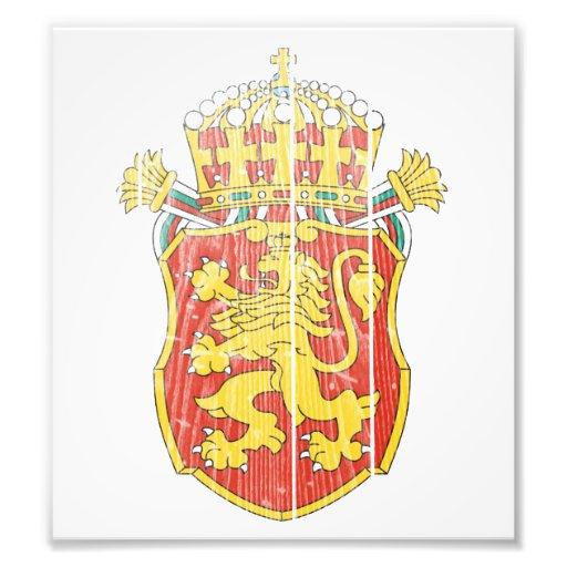 Bulgaria Lesser Coat Of Arms Photo Art