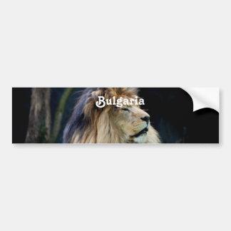 Bulgaria Lion Bumper Sticker