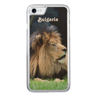 Bulgaria Lion Carved iPhone 8/7 Case