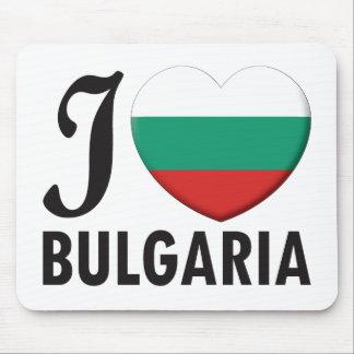 Bulgaria Love Mouse Pad