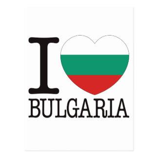 Bulgaria Love v2 Postcard