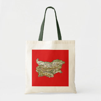 Bulgaria Map Bag