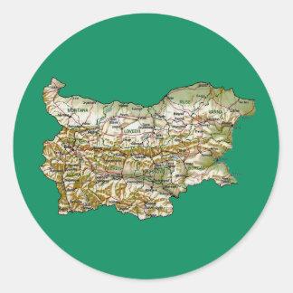 Bulgaria Map Sticker