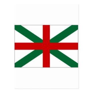 Bulgaria Naval Jack Flag Postcard