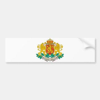 Bulgaria Official Coat Of Arms Heraldry Symbol Bumper Sticker