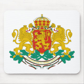 Bulgaria Official Coat Of Arms Heraldry Symbol Mouse Pad
