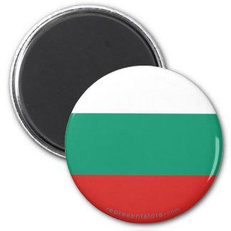 Bulgaria Plain Flag Magnet