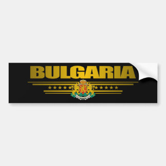 Bulgaria Pride Bumper Sticker