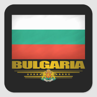 Bulgaria Pride Square Sticker