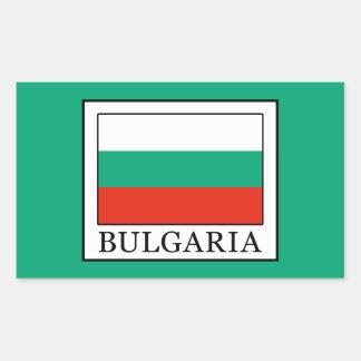 Bulgaria Rectangular Sticker