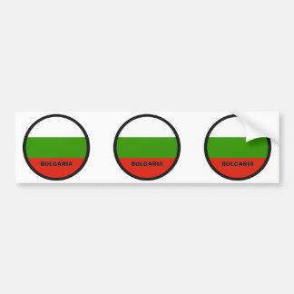 Bulgaria Roundel quality Flag Bumper Stickers