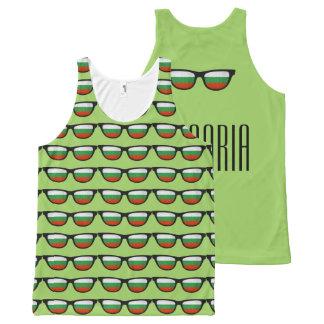 Bulgaria Shades custom text & color tank top