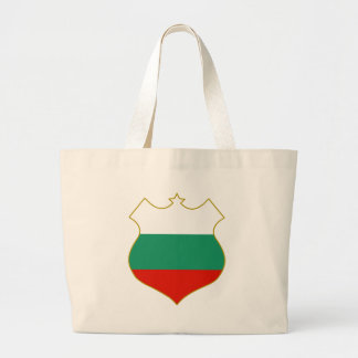 Bulgaria-shield.png Large Tote Bag