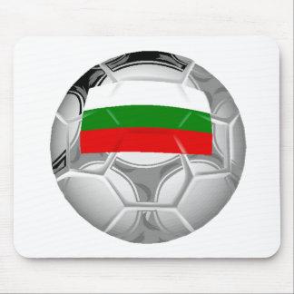 Bulgaria Soccer Ball Mouse Pad