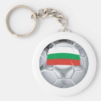 Bulgaria Soccer Key Ring